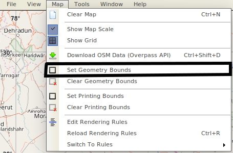 Creating After and Before Map Using OpenStreetMap – Below