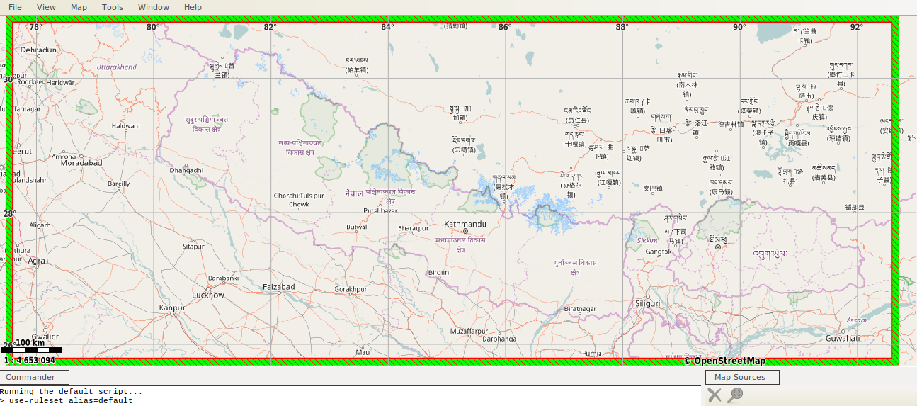 Creating After and Before Map Using OpenStreetMap – Below the